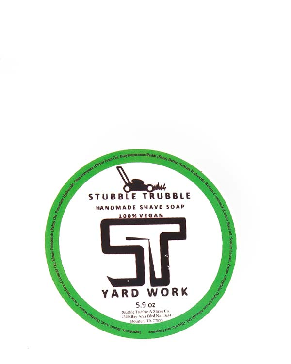 STUBBLE TRUBBLE YARD WORK SHAVE SOAP 5.9 OZ
