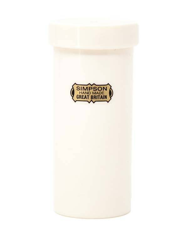 SIMPSON SHAVING BRUSH TRAVEL TUBE - SMALL