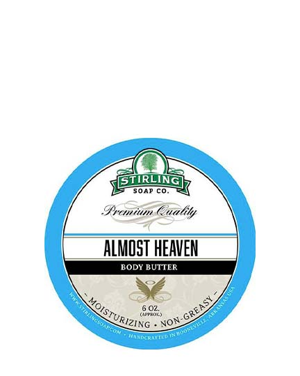 STIRLING SOAP CO ALMOST HEAVEN BODY BUTTER 6 OZ