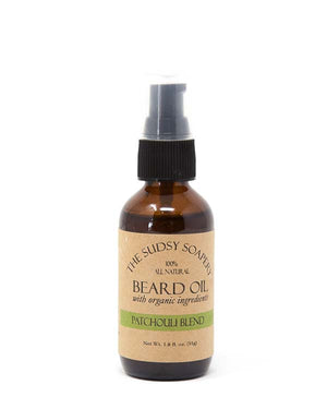 THE SUDSY SOAPERY BEARD OIL PATCHOULI BLEND 1.8 FL OZ