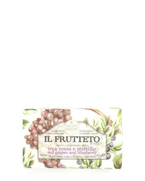 NESTI DANTE IL FRUTTETO RED GRAPES AND BLUEBERRY SOAP 8.8 OZ
