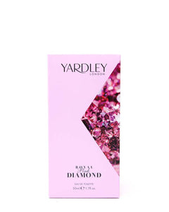 YARDLEY ROYAL PINK DIAMOND EAU DE TOILETTE 1.78 FL OZ