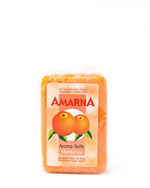 AMARNA MANDARINE PLANT OIL SOAP 3.5 OZ