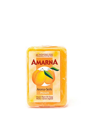 AMARNA PEACH PLANT OIL SOAP 3.5 OZ
