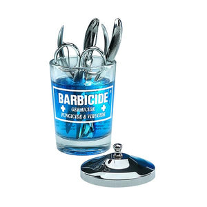 BARBICIDE SMALL TABLE JAR