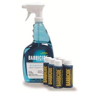 BARBICIDE SPARYER WITH SIX 2 OZ BARBICIDE BULLET