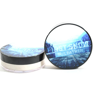 BARRISTER & MANN FIRST SNOW SHAVE SOAP 4 OZ