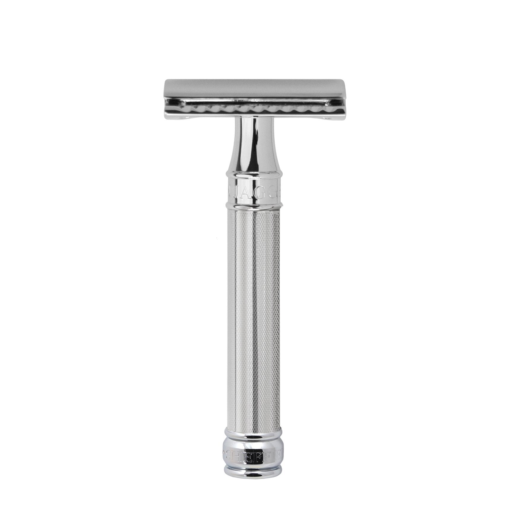 EDWIN JAGGER DOUBLE EDGE CHROME SAFETY RAZOR DE89BA11BL