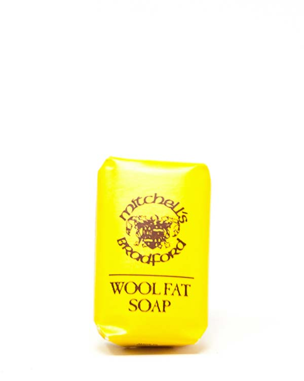 MITCHELL'S WOOL FAT SOAP, GUEST SIZE, 25g