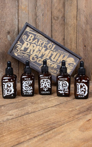 RUMBLE 59 SCHMIERE SET OF 5 BEARD OILS 50ml