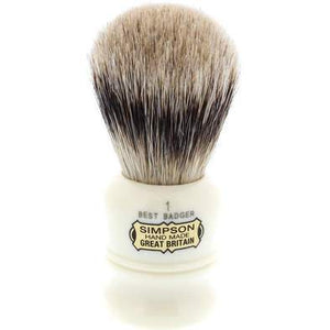 SIMPSON DUKE 1 SHAVE BRUSH