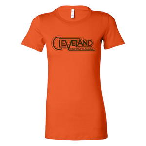 Cleveland International Ladies Orange Tee