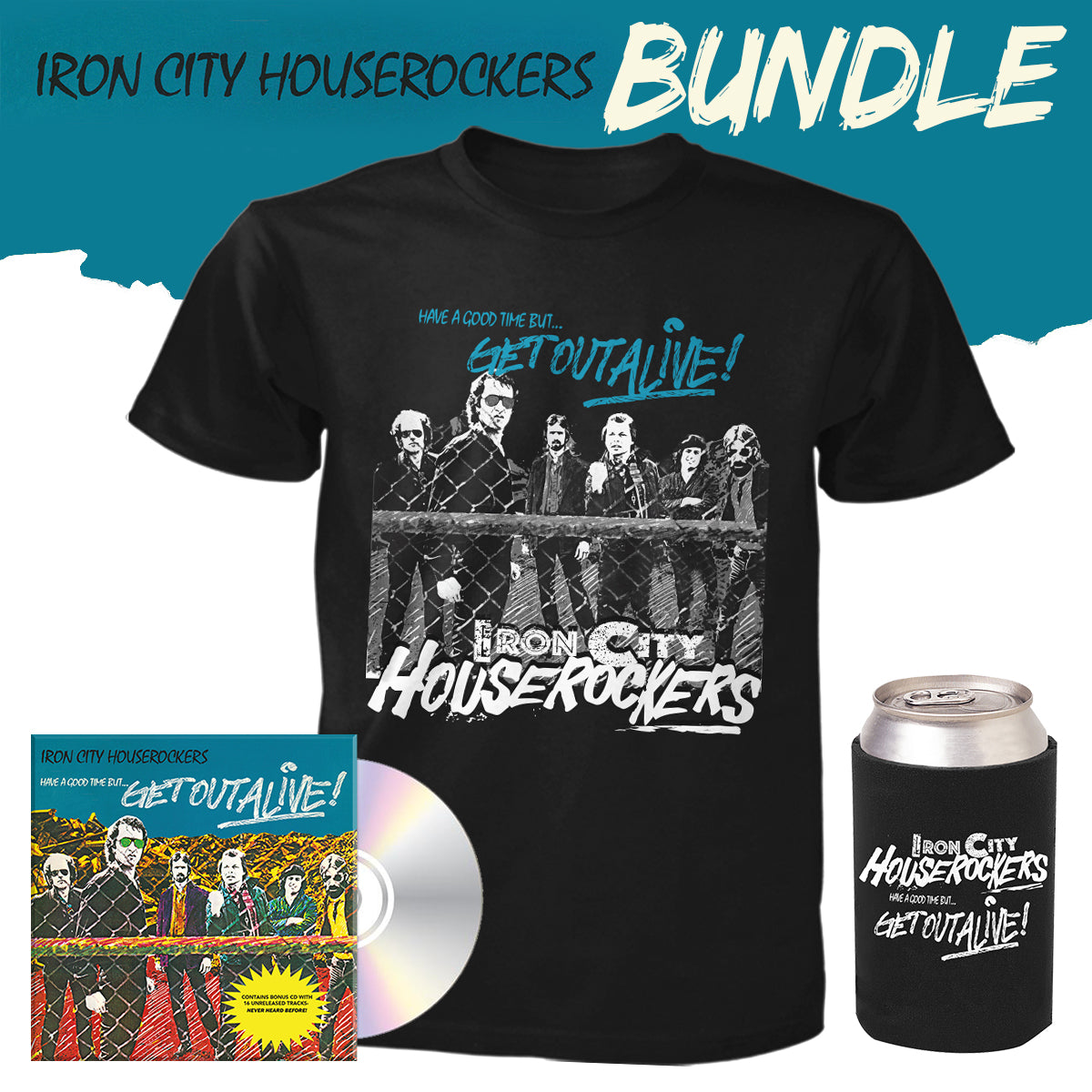 Iron City Houserockers Bundle - CD