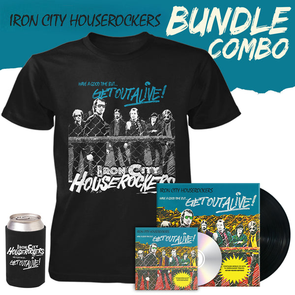 Iron City Houserockers Bundle - Vinyl CD Combo