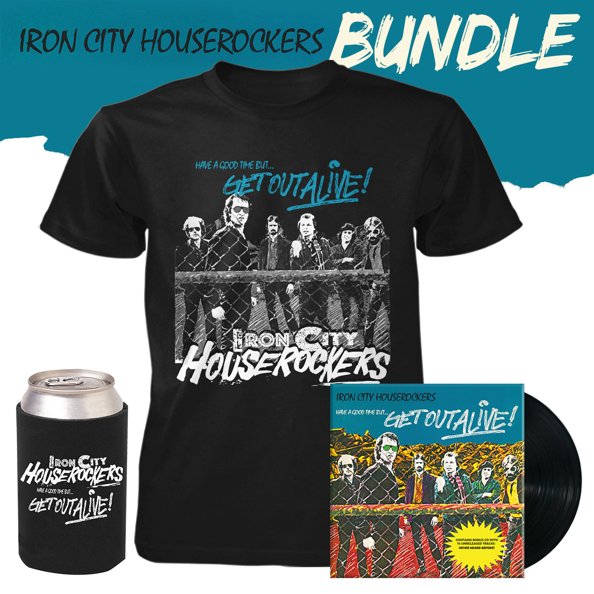 Iron City Houserockers Bundle - Vinyl