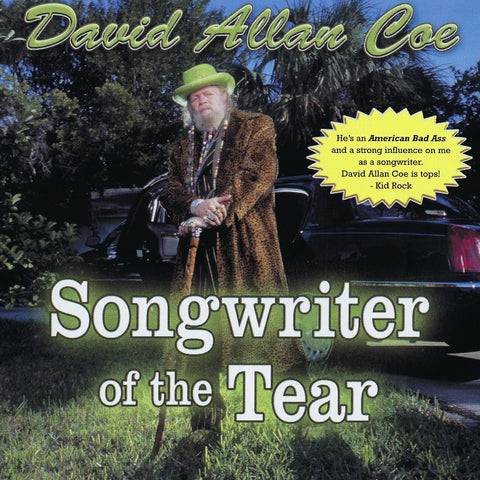 David Allan Coe: Songwriter Of the Tear CD