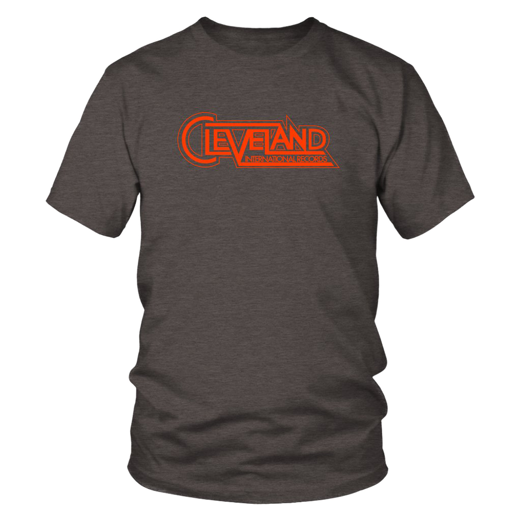 Cleveland International Brown Tee
