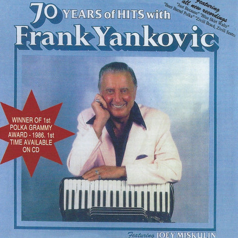Frank Yankovic: 70 Years of Hits with Frank Yankovic CD