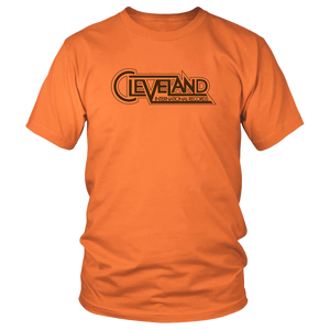 Cleveland International Orange Tee