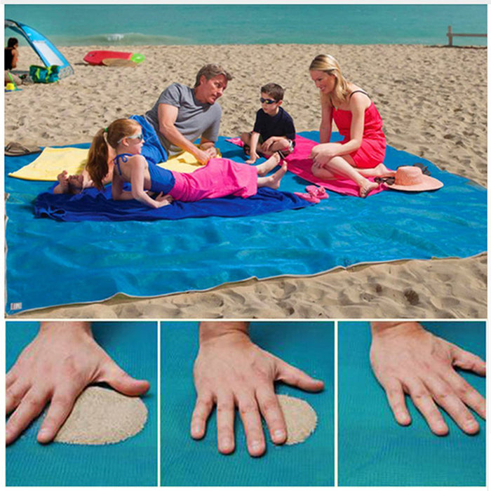 Sand Free Waterproof Beach Mat Fun Camping Mat Outdoor Rug Picnic Mattress Magic Pad Camping Mat Camping & Hiking