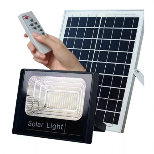 Faro Solar Súper Light Doble Panel 25 Watts | 42 LED