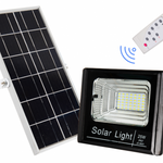 Faro Solar Súper Light Doble Panel 30 Watts | 60 LED
