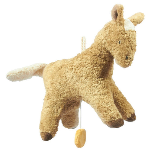 Music Box Soft Toy - Horse