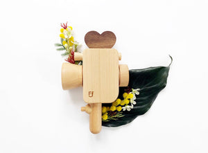 Super 8 Wooden Toy Camera with Kaleidoscope Lens