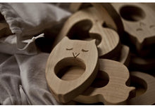 Load image into Gallery viewer, Wooden Penguin Teether