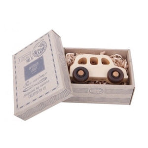 Wooden English Taxi Car
