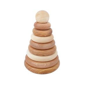 wooden stacker baby toy
