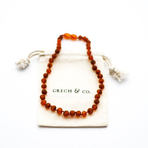 Baltic Amber Children's Necklace - Gaia