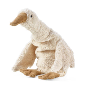 white goose soft toy