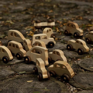 Wooden Little French Car