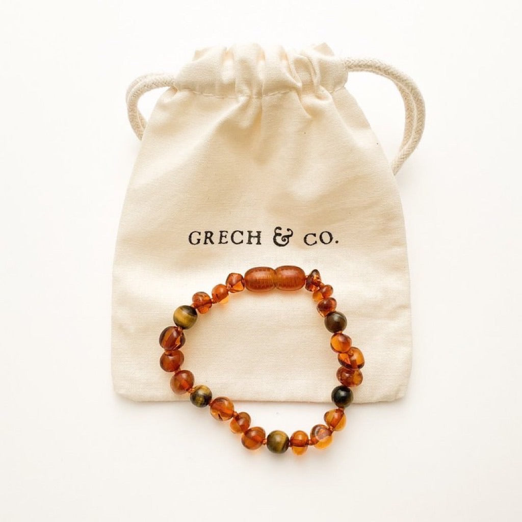 Baltic Amber Children's Bracelet / Anklet - Fierce