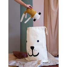 Load image into Gallery viewer, Fabric Bag - Big Smiling Bear