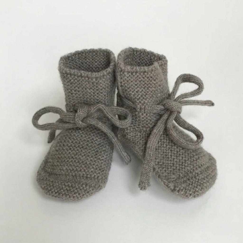 Merino Wool Booties - Otter
