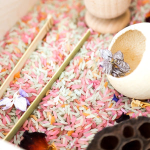 Sensory Grains Activity Box - Floral