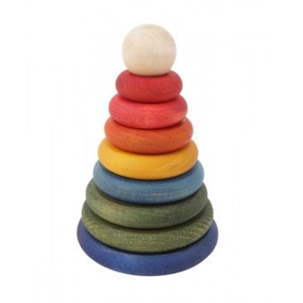 wooden story stacker