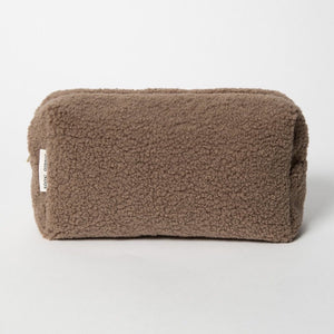 Chunky Teddy Pouch - Brown