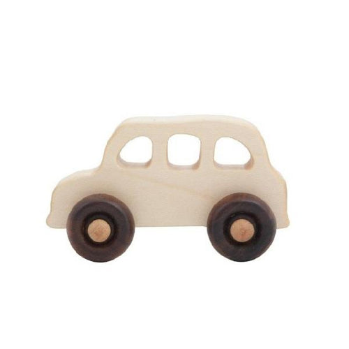 wooden london taxi toy