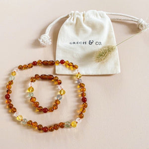 Baltic Amber Children's Bracelet / Anklet - Willow