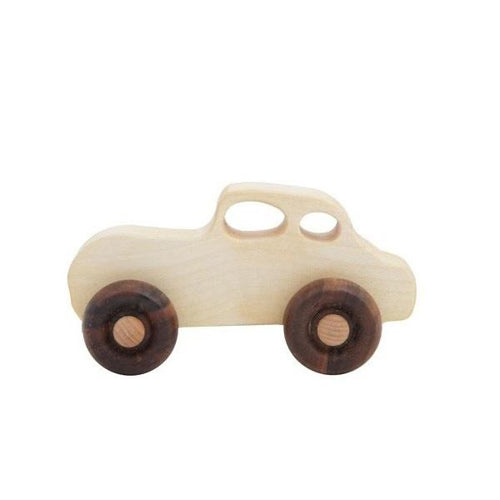 retro wooden cars toys