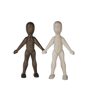 Wooden Doll Beech -  Boy