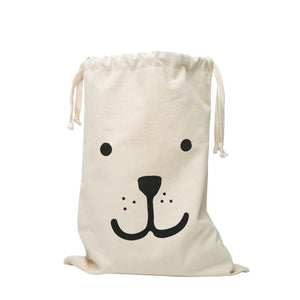 Fabric Bag - Big Smiling Bear