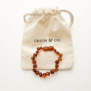 baltic amber anklet baby