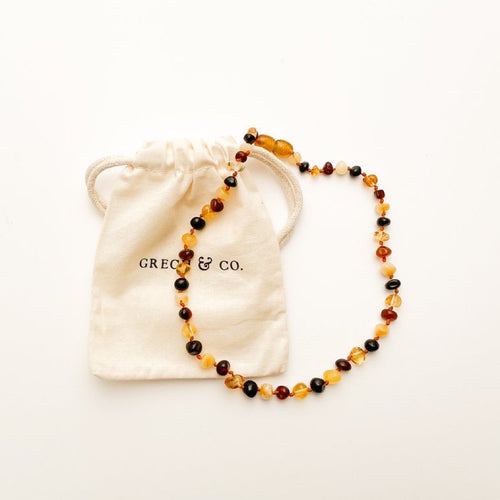 Baltic Amber Children's Necklace - Faith
