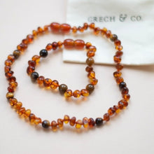 Load image into Gallery viewer, Baltic Amber Children's Bracelet / Anklet - Fierce