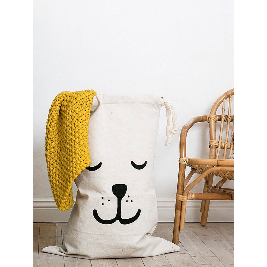 Fabric Bag - Big Sleeping Bear