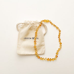 Baltic Amber Children's Necklace - Enlighten